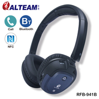 Foldable Deep Bass Stereo Sound Wireless Cordless Hands Free NFC Bluetooth Headphone Headset With Microphone For