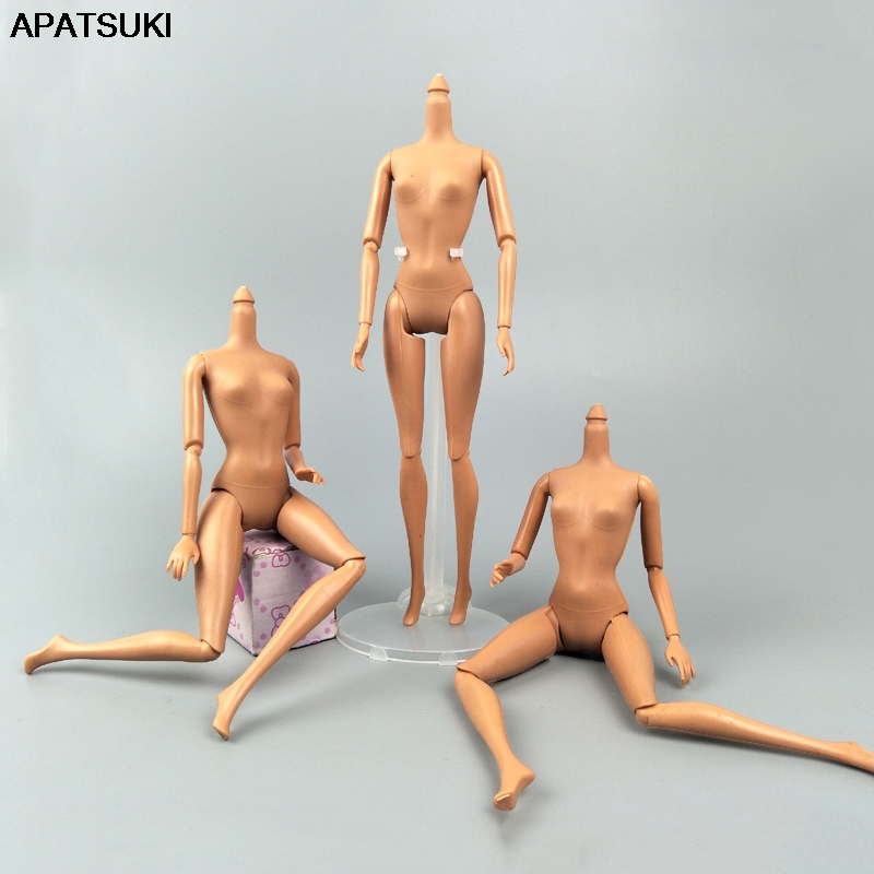 Kids Toy 1/6 11 Jointed DIY Movable Nude Naked Doll Body For 11.5