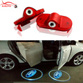 2 x Car Door Courtesy Light Laser Projector Logo Shadow LED For Ford Mondeo MK4 S-MAX Chia-X Mai Keith