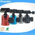 "Mini 360 Angle Panoramic Rotation 1/4"" 3/8"" Tripod Ball Head Aluminum Alloy Tripe for Canon Nikon Sony DSLR Camera"
