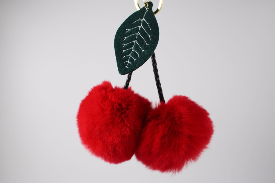 Fur Ball Keychain 03