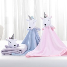 High Quality Baby Blanket Infant Bebe Flannel Swaddle Envelope Stroller Cartoon With Toy Newborn Bedding Blankets