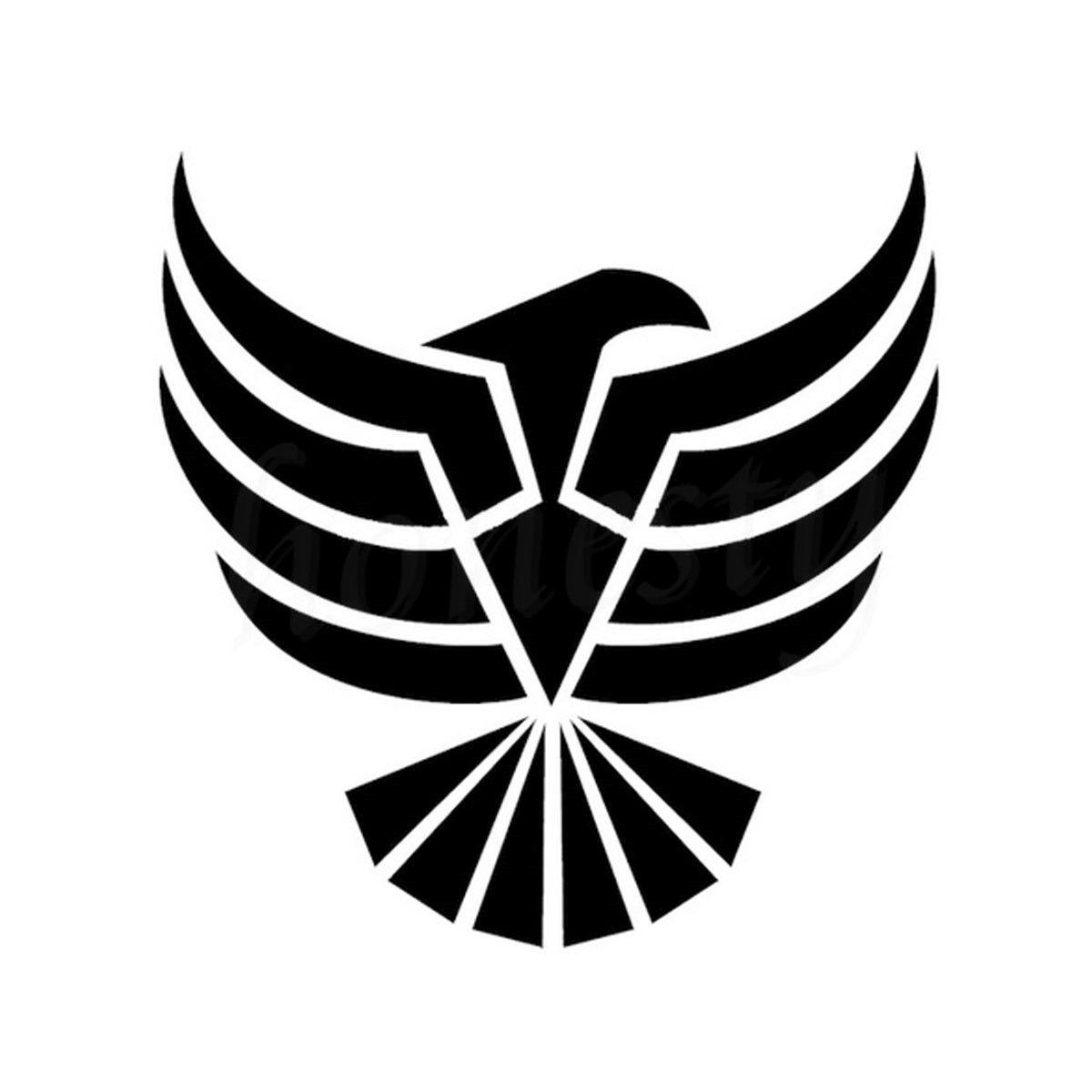 Car sticker eagle - Reich Majestic Eagle Totem Warrior Car Sticker Truck Window Wall Home Glass Door Laptop Black Vinyl