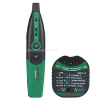 MASTECH MS5902 Automatic Circuit Breaker Finder Socket Tester W Analogue Receiver Flashlight