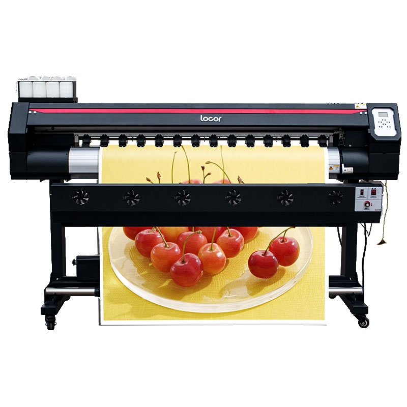 Wide Format Printing Machine 1600mm Sublimation Printer Locor Easyjet1601 Single XP600 Print Head