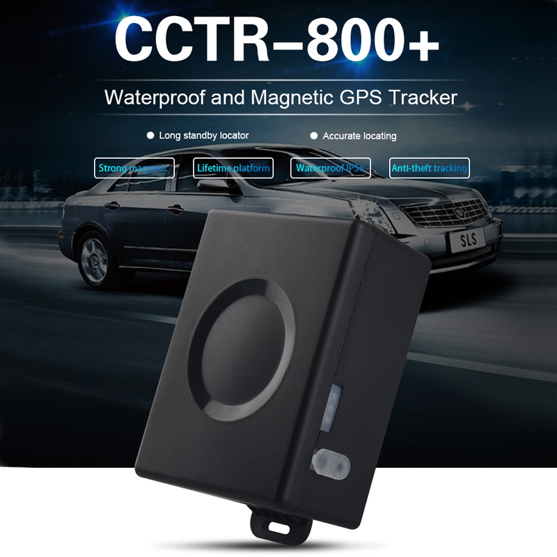 Car GPS Tracker CCTR 800 Plus Vehicle GPS Locator Big battery 6000mAh 50 Days Standby Time