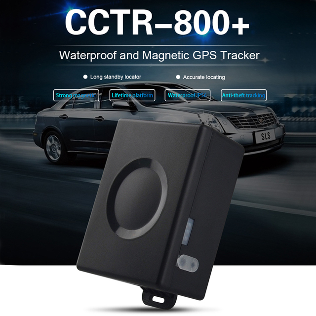 Car GPS Tracker CCTR 800+ Plus Vehicle GPS Locator Big battery 6000mAh 50 Days Standby Time Strong Magnet Lifetime Free Tracking