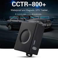Carro rastreador gps CCTR-800 + mais veículo localizador gps grande bateria 6000 mah 50 dias tempo de espera forte ímã vida livre rastreamento