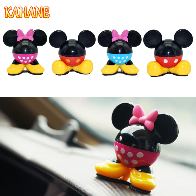 1PC Cartoon Air Freshener Car Perfume Vent Outlet Clip Auto Solid Fragrance Air Conditioner Car Perfume Fresh Air Freshener