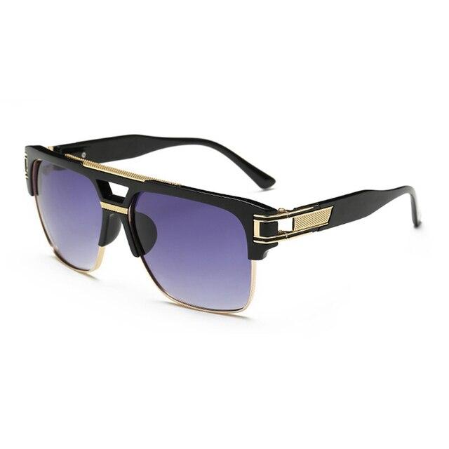 Personnalité / lunettes de soleil / grand cadre / retro / lunettes de soleil / pour éviter les rayons ultraviolets / lunettes de soleil , 1