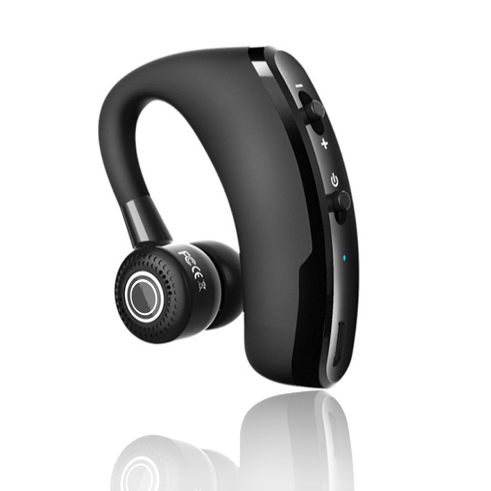 V9 Bluetooth Headset Bluetooth Headphones an Upgraded Version of the Business Ear CSR Stereo Wireless Bluetooth Headphones