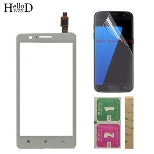 Image 3 - 5 Mobiele Touch Screen Touchscreen Voor Lenovo A536 Touch Glas Voor Glas Digitizer Panel Lens Sensor + Protector Film 3M Lijm