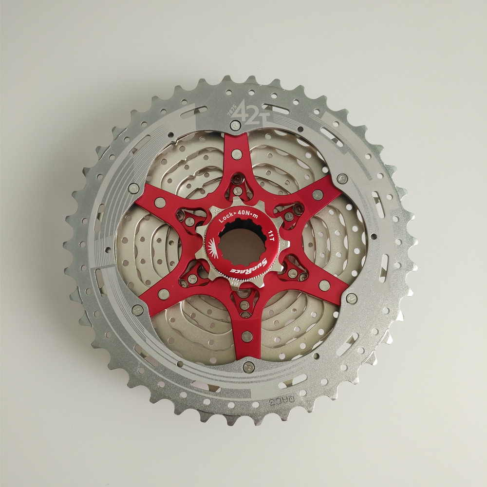 SunRace <font><b>11</b></font> speed bicycle freewheel sprocket mtb mountain bike <font><b>cassette</b></font> bicycle parts <font><b>11</b></font>-42T image