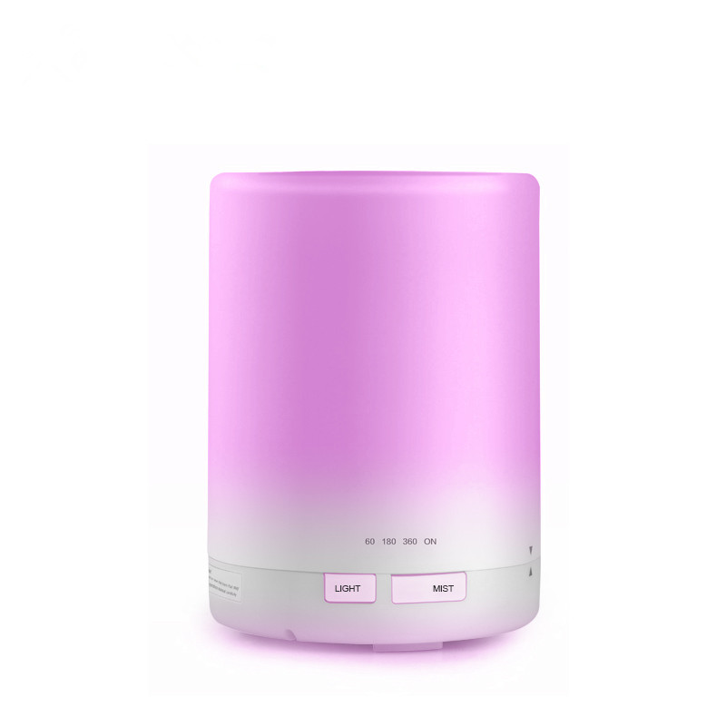 300ml Aroma Essential Oil Diffuser, Ultrasonic Air Humidifier 8-9 HOURS Continuous Diffusing - 7 Color Changing 4 Timer Settings