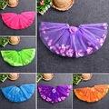 Baby Girls Kid Toddler Child Petal Camellia tutus Dance Short  skirts PettiSkirt