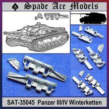 Spade Ace 1 35 35045 Metal Track Panzer III IV Winterketten