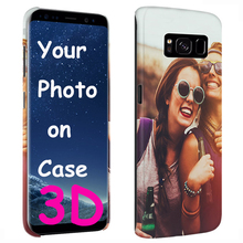 Customize For Samsung galaxy s8 plus phone cases customized 3D plastic cell cover for samsung s8 plus personalized phone case стоимость