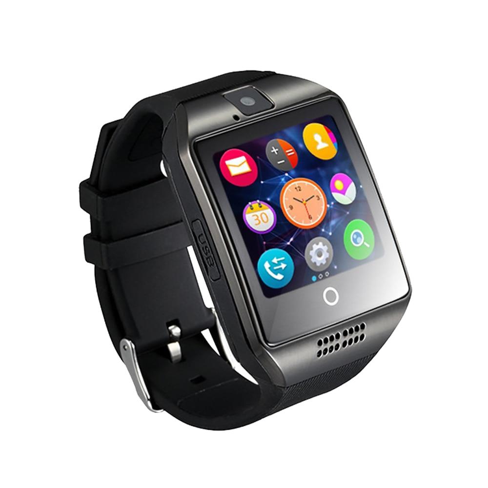 Envío gratis smart watch q18 teléfono android 1.54 pantalla de la cámara 2g tarj