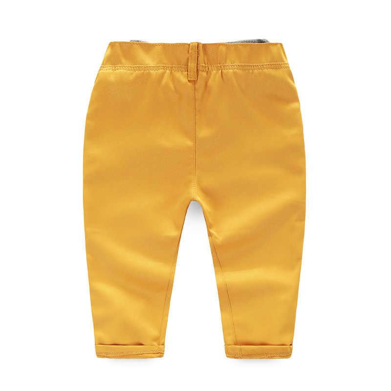 2 PCS/0-5Years/Anak-anak Musim Gugur Musim Semi Pakaian Kasual Lengan Panjang t-shirt + Celana Bayi Laki-laki Setelan Boutique Anak Pakaian Set BC1237