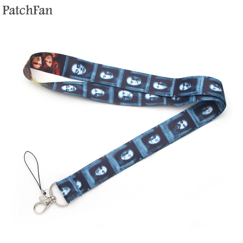 Patchfan Game of thrones keychain lanyard webbing ribbon neck strap fabric para id badge phone holders necklace accessory A1179 in Webbing from Home Garden