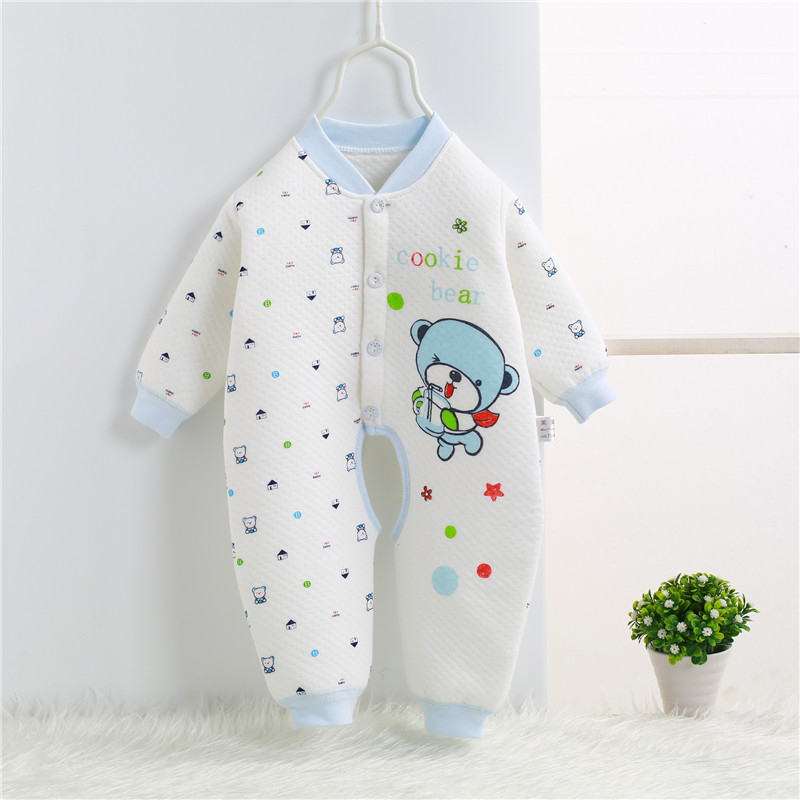 2017 Spring Autumn Newborn Romper cartoon baby girl baby clothing 100% cotton baby boy clothes jumpsuit bebes 0-1 years SKA08 (3)