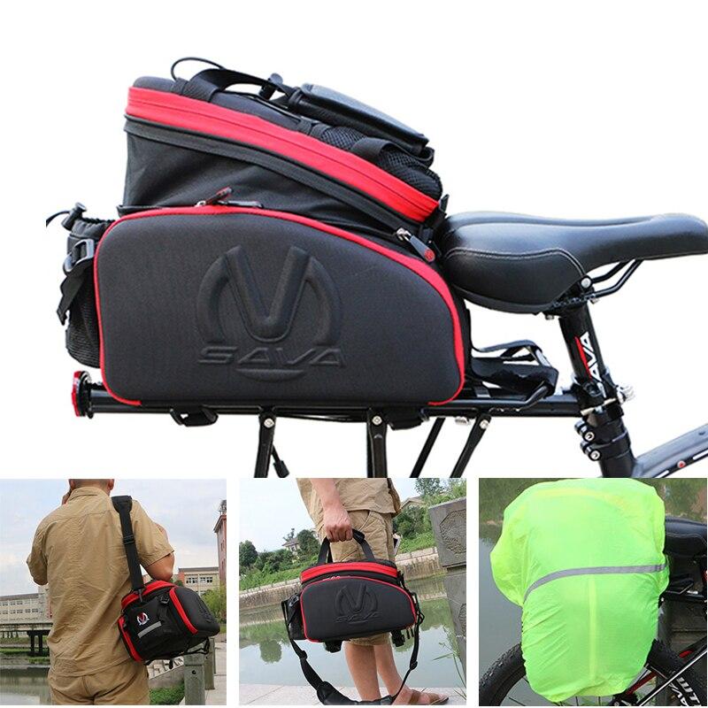 SAVA Pannier Bicycle Pannier Bag Cycling Bag 35L Bicycle Luggage bags Bike pannier Rear Mountain bike