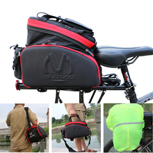 SAVA Bicycle Trunk Pannier Bag 35L Waterproof Bicycle Cycling Bag mtb Bike Panniers Rear Mountain bike double side panniers bag