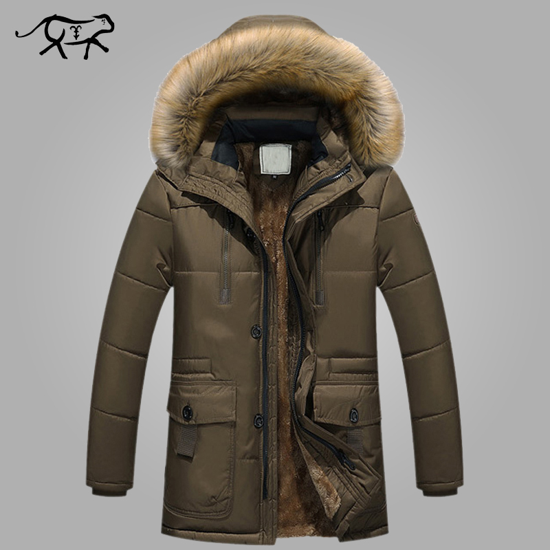 New Brand Clothing Winter Men Jacket Fashion Mens Winter Parka With Fur Hood Casual Warm Men's Coats Thick Long Parkas Homme 5XL free shipping winter parkas men jacket new 2017 thick warm loose brand original male plus size m 5xl coats 80hfx