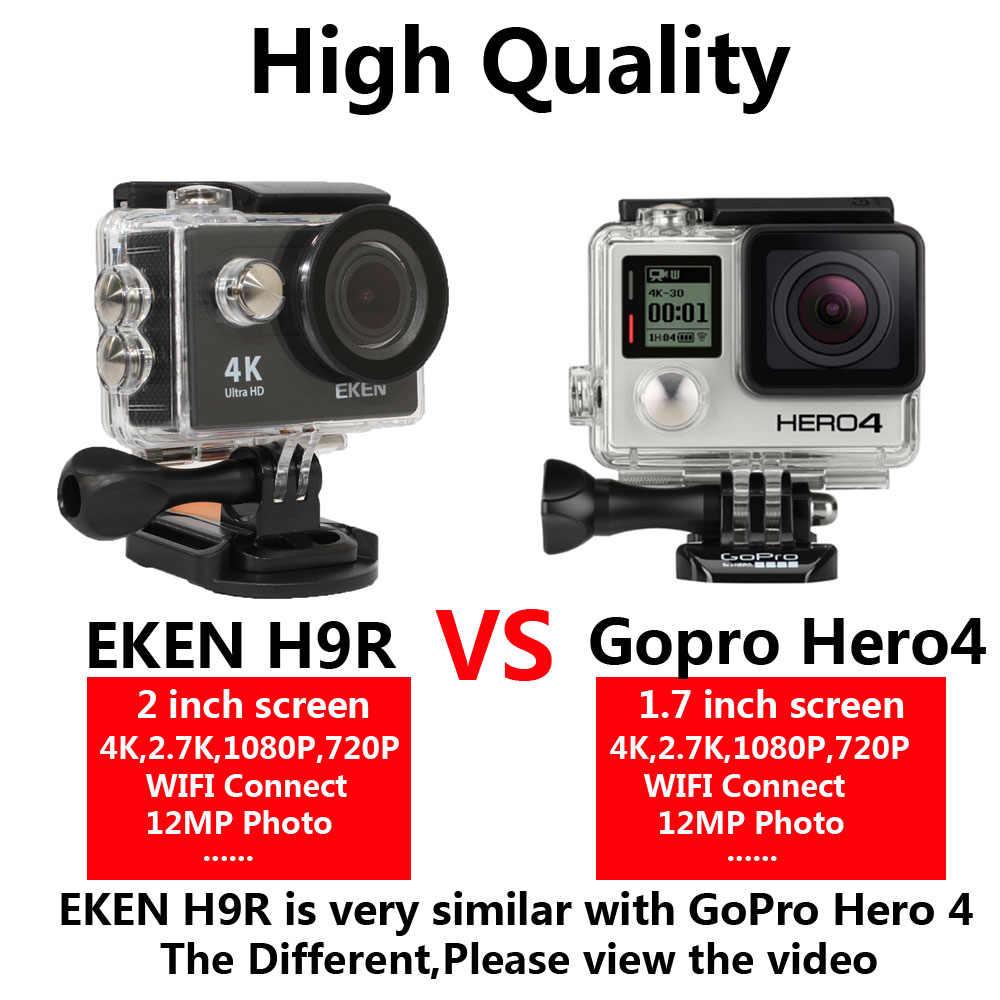 """Eken H9 экшн-камеры H9R Ultra HD 4 K/25fps Wi-Fi 2,0 """"170D Водонепроницаемый подводный шлем Cam камеры Спорт cam"""