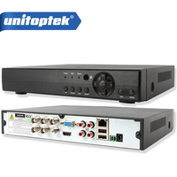 4Ch 5 IN 1 1080P AHD DVR Hybrid XVR Support AHD CVI TVI CVBS IP Camera Onvif 3MP 5MP CCTV NVR RS485 Coxial Control P2P View