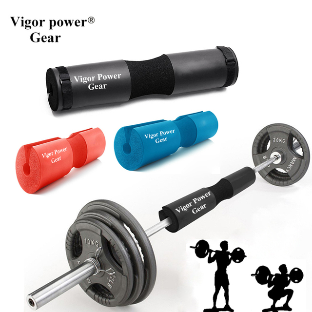 Vigor Gear Barbell Squat Pad With 2 Pcs Straps For Bar Weight Lifting
