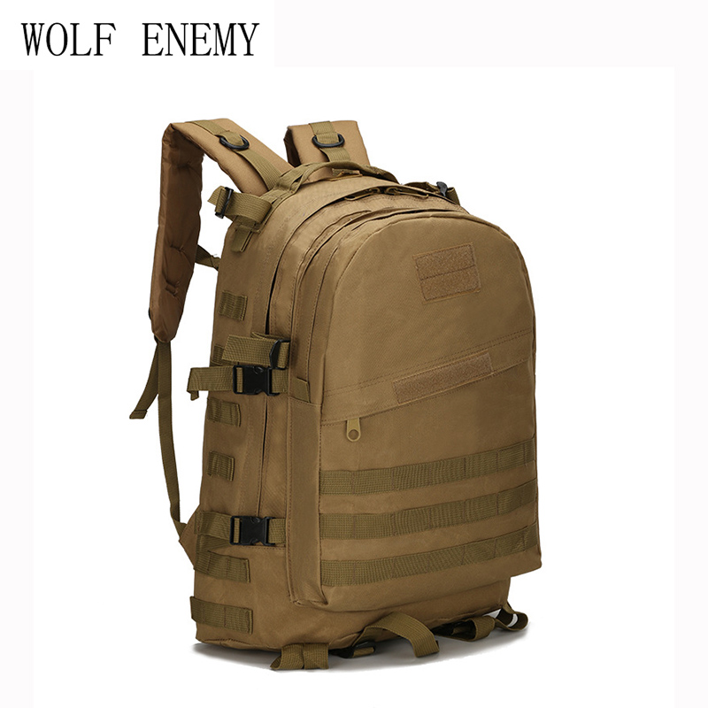 New Upgrade! Mens Tactics Backpack Rucksack Military Backpack 40L Bag Travel Mens Mochila Designer Backpacks Male Hunting Bags ...