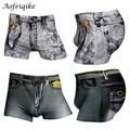 2016 sexy underwear men classic impreso algodón spandex calzoncillos mens underwear boxers shorts hombres de la marca boxer