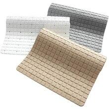 Removable Bath Mat Safety Non-slip Stitching Kitchen Bathroom Mats Shower Floor Cushion Rug Accessories