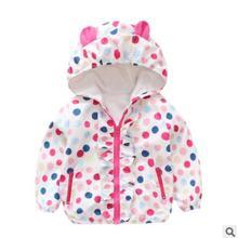 Пальто для маленьких девочек осенне-зимняя детская одежда куртка для маленьких мальчиков повседневная куртка для девочек верхняя одежда для малышей пальто для малышей 20