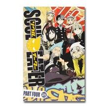 Arte de seda ou impressão em tela soul eater anime poster 13x20 Polegada para decoração de quarto-004