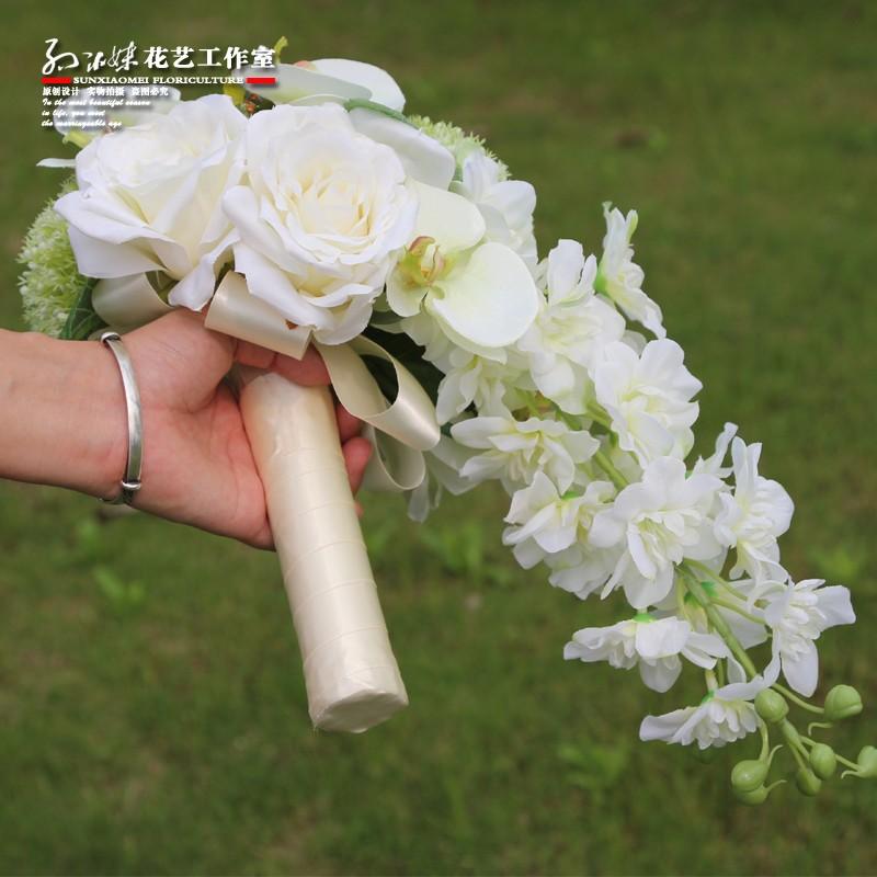 wedding flowers bridal bouquets roze 4