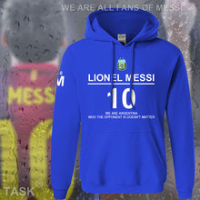 Hoodies männer lionel messi leo m10 argentinien star sweatshirt polo trainingsanzug fuß ball-spieler streetwear fleece barcelona 2017 08