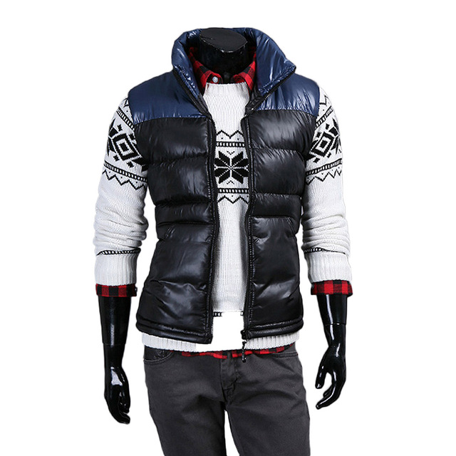 Fashion Men Vests Plus Size Winter Warm Down Jacket Comfortable Cotton Casual Sleeveless Waistcoat Korean Trend Hombre Slim Coat