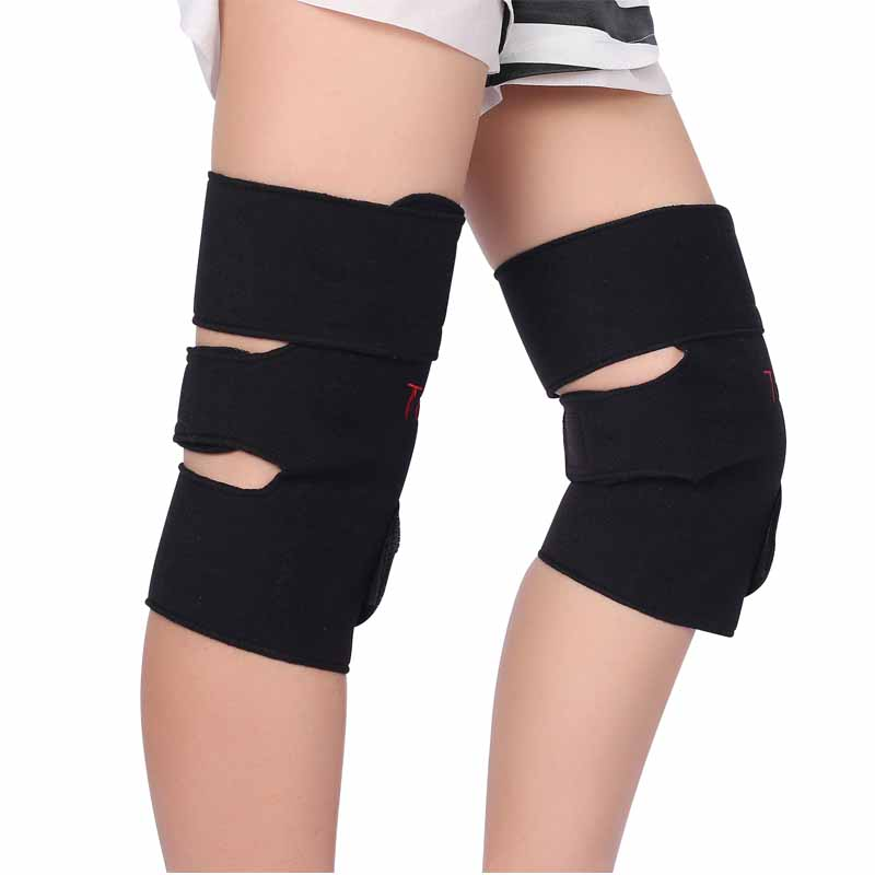 1Pair Tourmaline Self Heating Kneepad Magnetteraapia põlveliigese turmaliini soojendusvöö Knee Massager