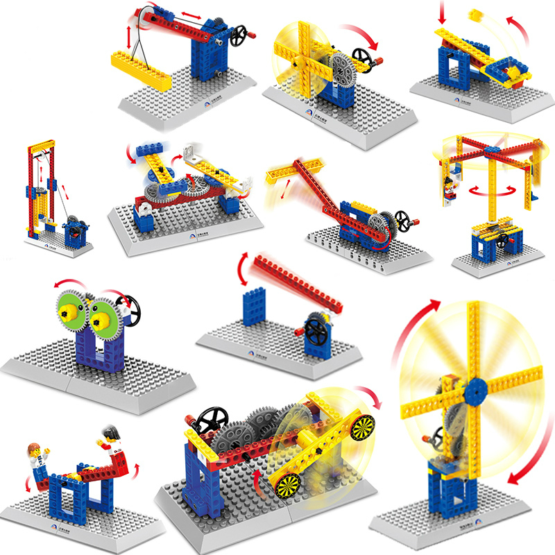 Mechanical Engineering Building Blocks Bricks Kids Toys DIY Model Collection Gift Toys for Children Compatible with Legoe woma engineering architecture education model urban engineering vehicles building blocks children toys compatible with legoe