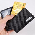 Cool design luxury wallets carbon fiber kickstarter with magnet kaufen modular mini wallet for 6 cards