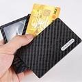 Cool design luxury wallets carbon fiber kickstarter with magnet kaufen modular mini wallet for 6 cards