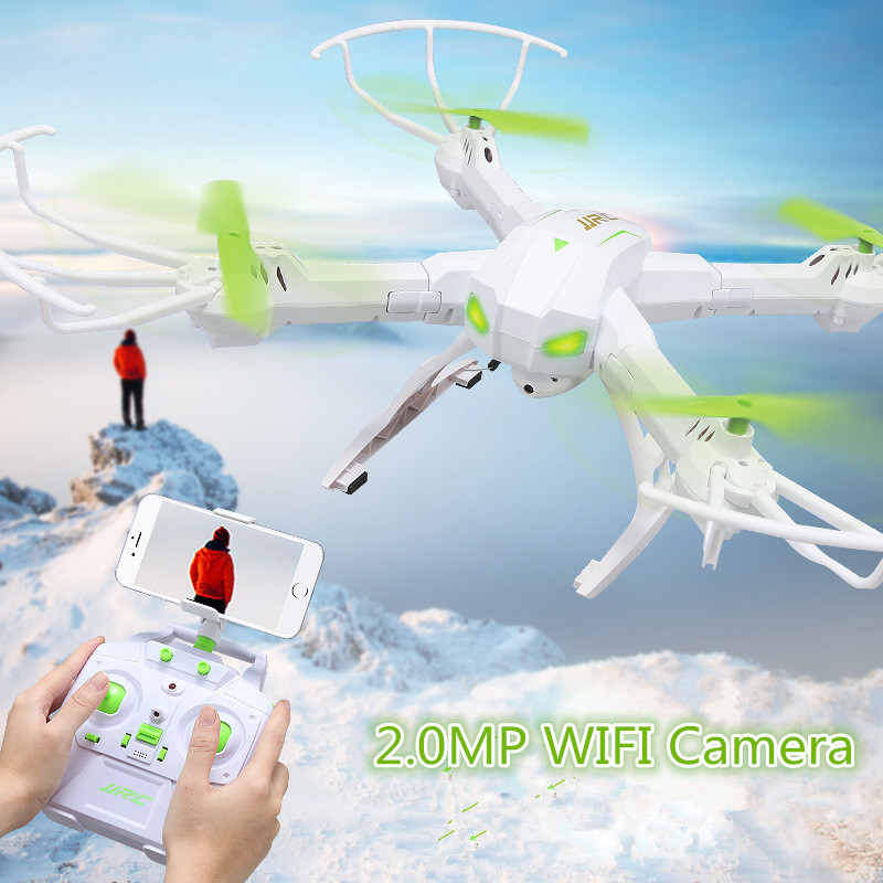 2017 Newest H19WH WIFI FPV RC Drone  2.4g 4ch Removable Arms Altitude Position Hold RC Quadcopter with 2.0MP WIFI camera vs X5SW jjr c jjrc h43wh h43 selfie elfie wifi fpv with hd camera altitude hold headless mode foldable arm rc quadcopter drone h37 mini