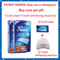 Patente 28 Tiras/14 Bolsas/2 Caixa de Dente Dentes Whitestrips Efeitos Profissionais Whitestrips Crista 3D White LUXE