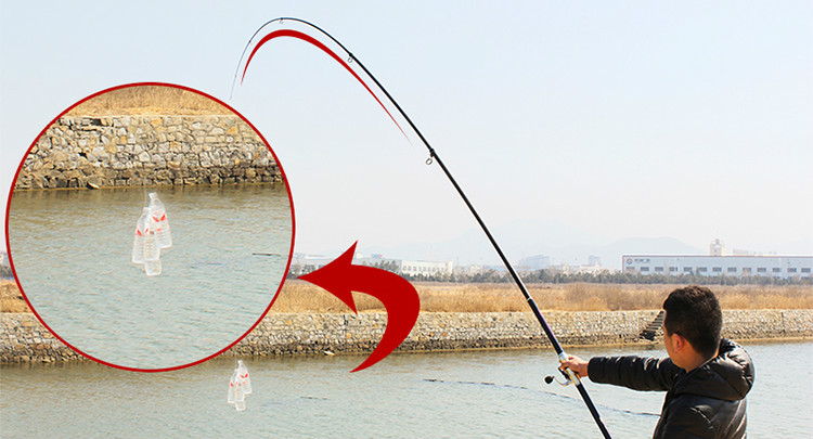 distance throwing rod