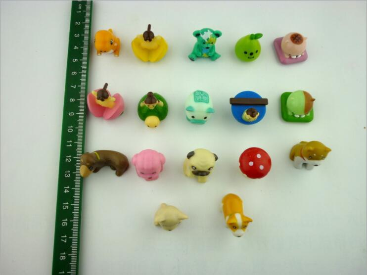 8 9 Toys For Birthdays : 50pcs lot hot sale capsule toys colorful cute animal dog figures