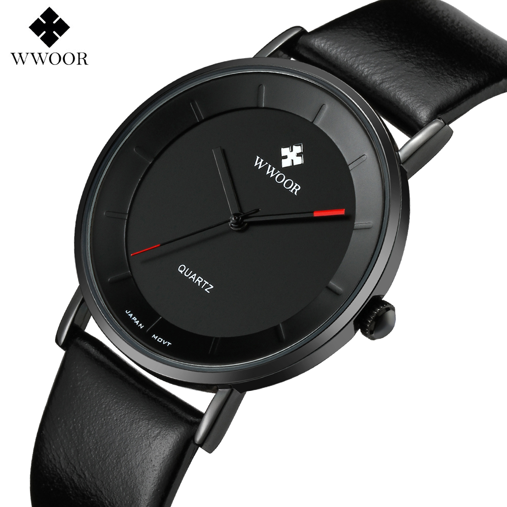 Men Watches Top Brand Luxury Watch Men Ultra Thin WWOOR Fashion Watch Leather Mens Quartz-watch Wristwatch relogio masculinoMen Watches Top Brand Luxury Watch Men Ultra Thin WWOOR Fashion Watch Leather Mens Quartz-watch Wristwatch relogio masculino