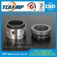 58U 100mm 58U/100 JohnCrane Mechanical Seals (SiC/Carbon/Viton) |T58U Unbalanced O ring pusher Seal for Pumps