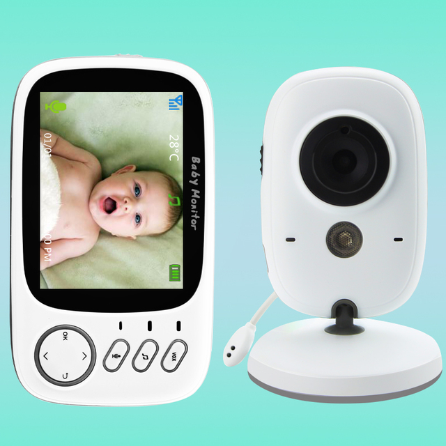 VB603 Wireless Video Color Baby Monitor with 3.2Inches LCD 2 Way Audio Talk Night Vision Surveillance Security Camera Babysitter 1